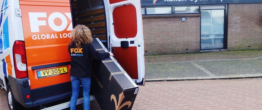 FOX Global Logistics B.V. neemt per 01 Maart 2019 de bedrijfsactiviteiten van Bicycle Logistics Rotterdam over!